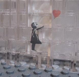 Lego Banksy Decal