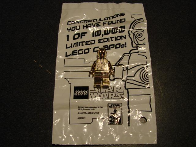 Collectable Gold C3PO minifig