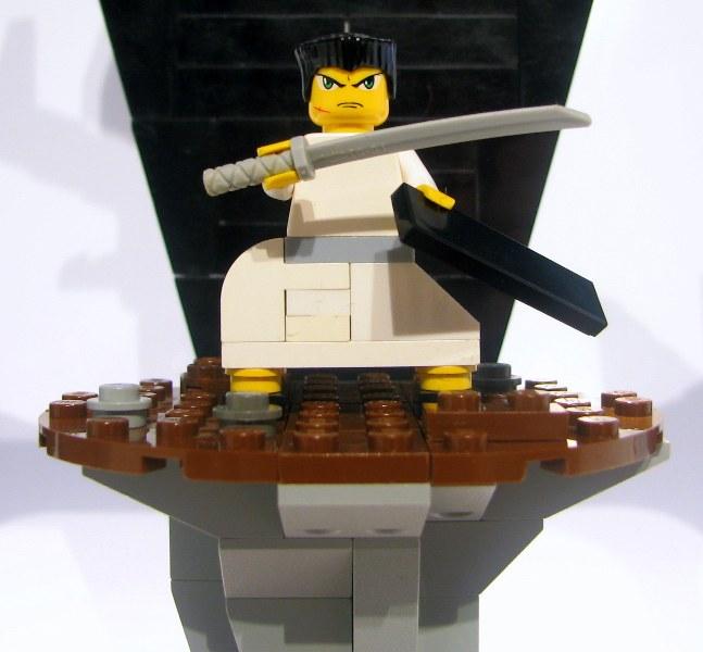 samurai jack lego custom minifig