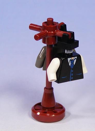 Lego, custom, minifig, coat hanger