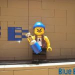 Lego Custom minifig vandel
