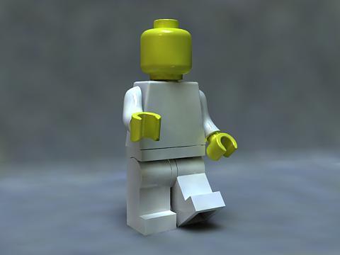 lego custom mini fig man