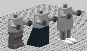 Lego mini fig leg variants