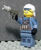 custom lego minifig metal gear solid