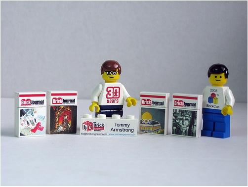 Lego Custom minifig engraving and printing