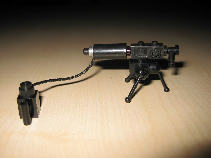 WWII custom minifig Heavy Machine gun | Custom LEGO Minifigures