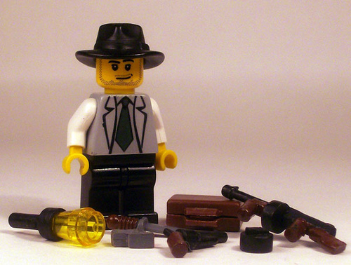 1920's Mafia custom minfig by realdye