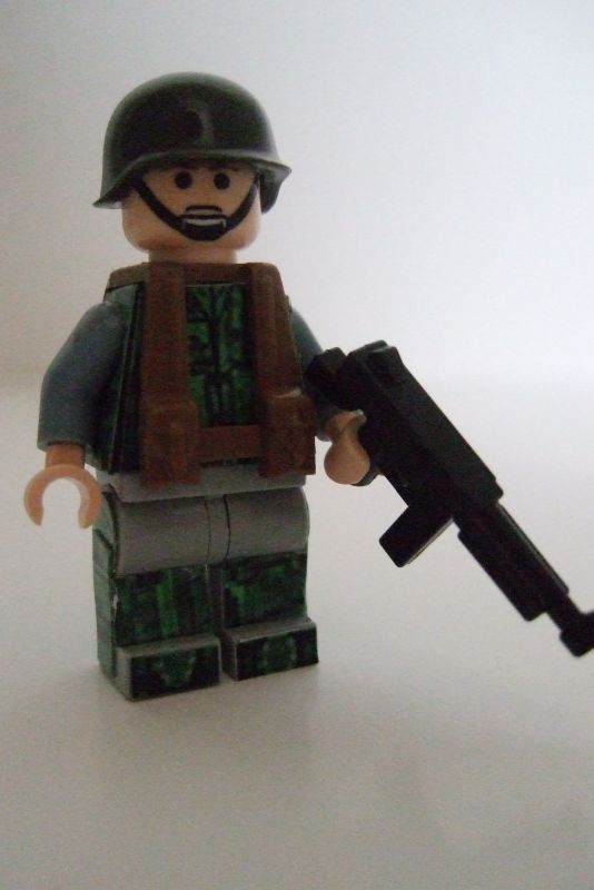 COD World at War Marine Raider custom minifig