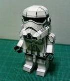 cool paper lego storm trooper