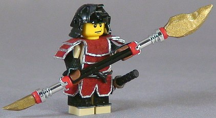 custom made minifig spear by shmails