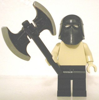 custom minifig executioner by chaosfish1