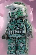 custom star wars scout clone trooper Lego minifig by Fine Clonier