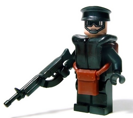 future paratrooper custom minifig by Hobo