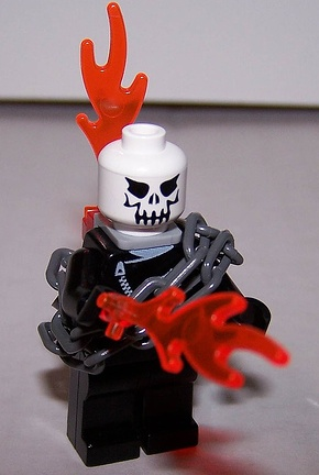 ghostrider custom minifig