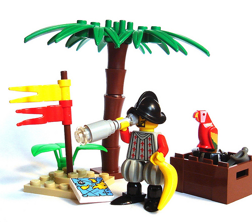 Lego Spanish explorer custom minifig