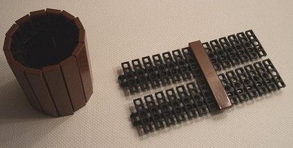 how to make a lego wood cylinder by 2muchcaffeine