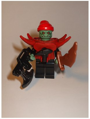 Lego alien Thorg Space Brigand custom minifig by Jasbrick