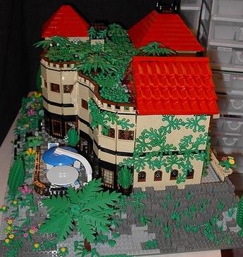 Lego aquarium villa MOC by dh-l