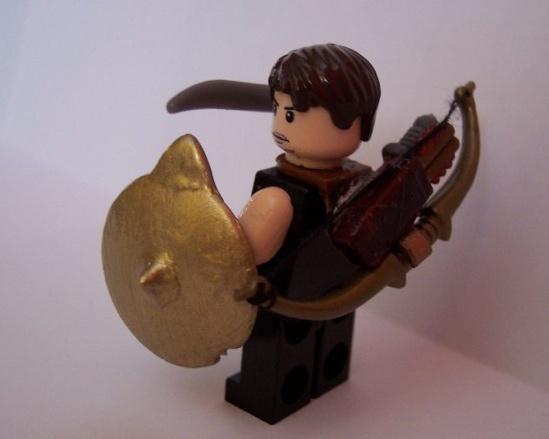 lego archer custom minifig by amw37