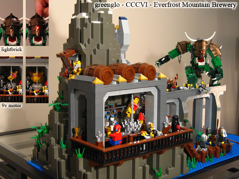 Lego medieval Pole Dancer
