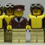 lego custom minifig crew of the bettys kiss