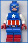 lego custom minifig captain america by marvel man 810