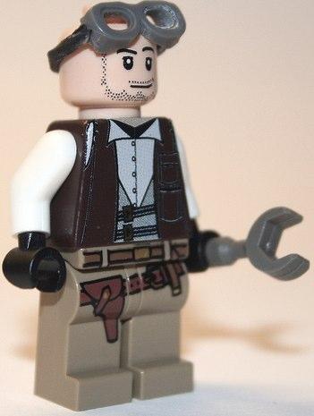 Lego custom minifig machanic by Vid