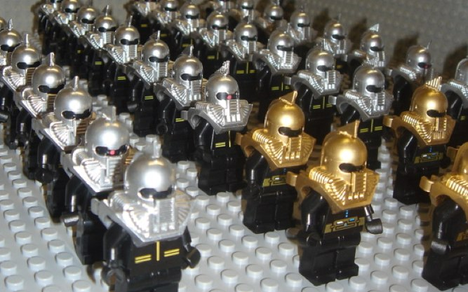 Lego cylon custom minifigs by John Socal