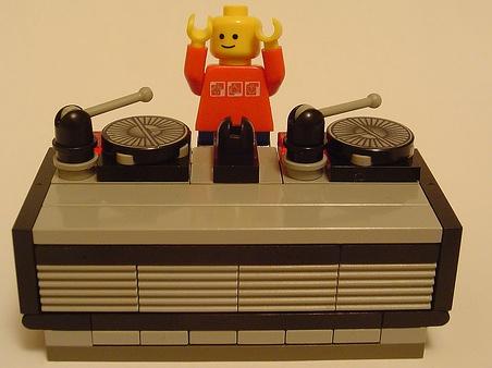 lego dj fatboyslim minfig by minifig