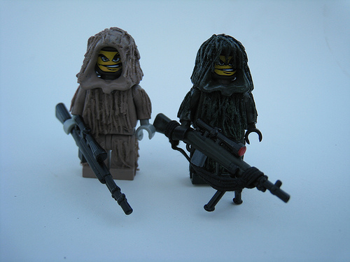 Lego custom Minifig snipers2
