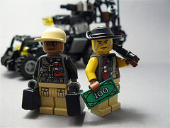 Lego custom minifig mercenaries