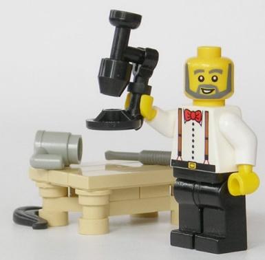 lego microscope by mijasper