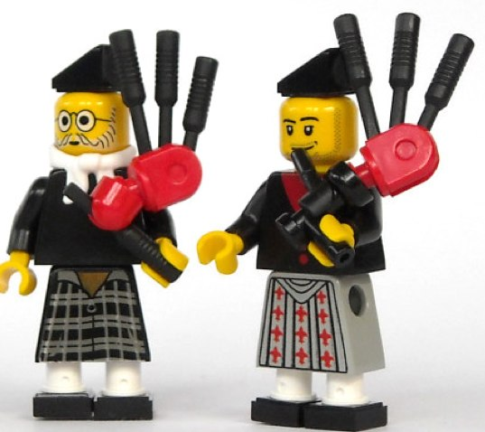 Lego scots custom minifigs by mijasper