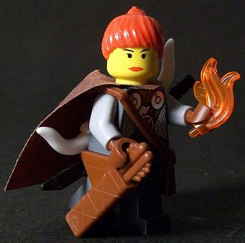 Ray'lel custom minifig by Dano