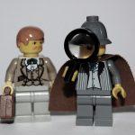 Sherlock Holmes and Dr. Watson Custom Lego Minifigs