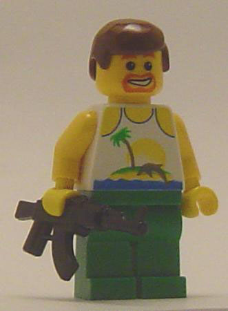 Don't mess with the Lego custom minifig Zohan