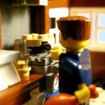 Pancake Day 2009 Lego minifig style!