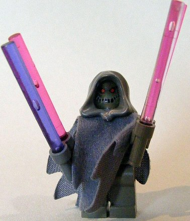 starwars custom sith lord minifig by cole blaq