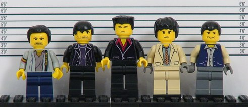 the usual suspects custom minifigs by shmails