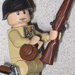 WWII GI custom minifig