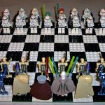 Lego Star Wars Clone Wars Minifig Chess Set