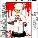 Zombie Chef custom minifig