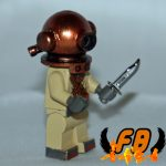 Bell Diver custom minifig