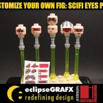 Customize Your OWN fig! Scifi Eyes Pack