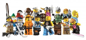 lego collectors custom minifig series 4