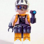 SW Bounty Hunter custom minifig.