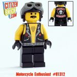 Motorcycle Enthusiast custom minifigure