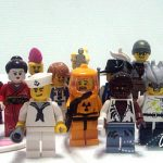 real life series 4 minifigs!
