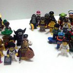 Complete Lego Minifig Series Up To 4