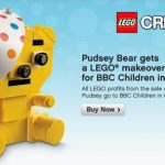 Lego Pudsey Bear